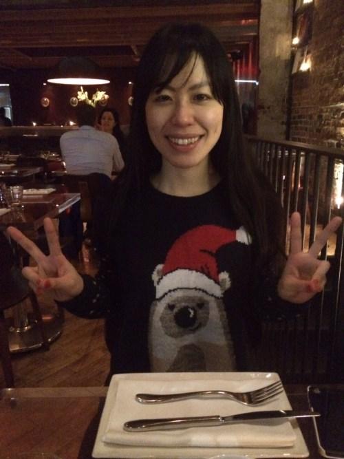 December 17, 2014: Akemi Scrooged!  Everything Is Coming Up Dark Matter!