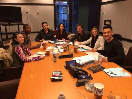 January 7, 2015: Read-thrus, Camera Tests, Cast Dinners, And Sound Medical Advice!
