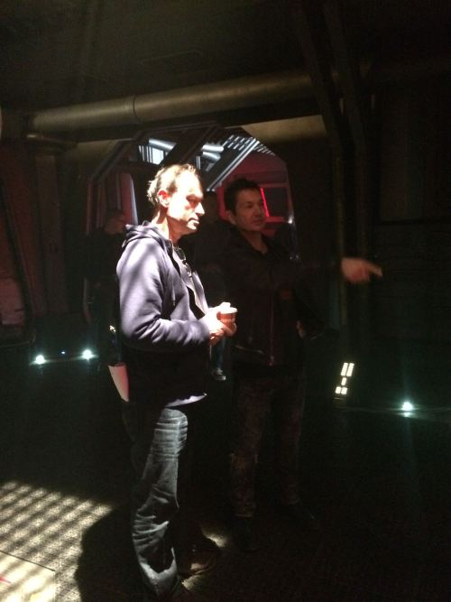 January 9, 2015: Dark Matter, Episode #101, Production Day One!