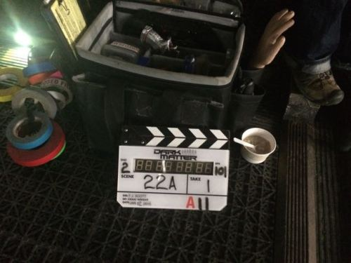 January 12, 2015:  Scotch, Swords, And Dance!  Dark Matter Production Day #3!