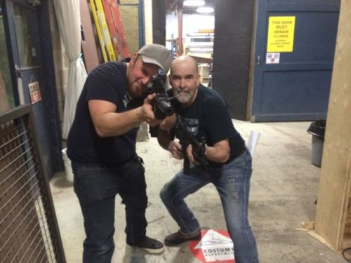 February 3, 2015: Cars Elves!  Production!  Prep!  And Our Walking Dead Crossover!