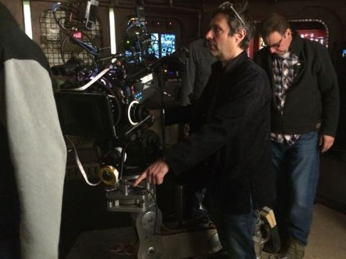 February 2, 2015: An Unexpected Encounter!  Paolo Barzman At The Helm!  Amanda Tapping On Deck!