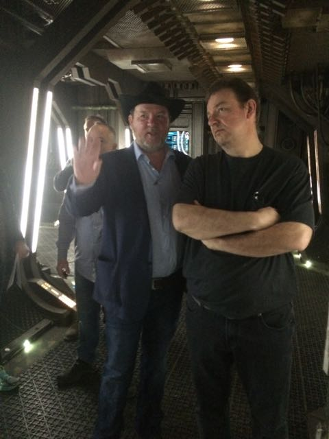 March 22, 2015: Dark Chatter – The Aftershow!  Behind The Scenes On Dark Matter!