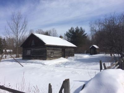 March 5, 2015: Farmhouse Scouting In The Deep Freeze!
