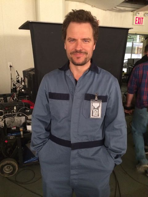 April 16, 2015: Scenes From The Set Of Dark Matter!