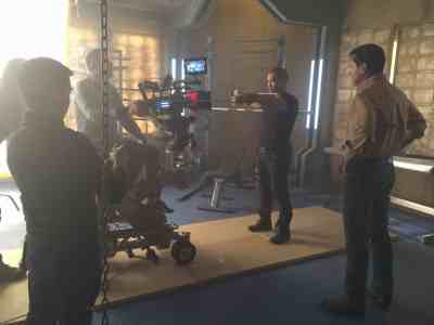 May 14, 2015: The Dark Matter Rollout Continues!  Introducing Alex Mallari Jr. As Four!