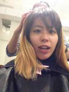 May 30, 2015: Akemi's Big Hair Day!