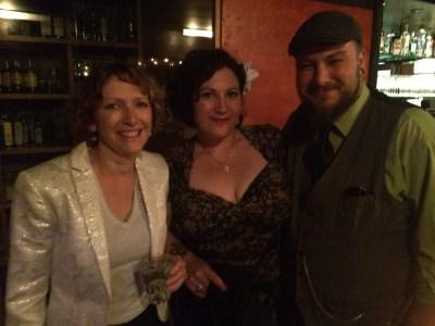 Anna, Jessie, and Eric
