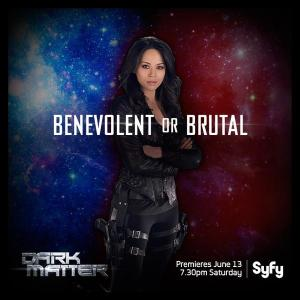 June 7, 2015: 5 Days To The Dark Matter World Premiere!  Checking Out The Ship's Underbelly!  And A Couple Of Stargate Tidbits To Boot!