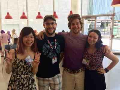 Akemi, Shane, Matt, and Jodelle.