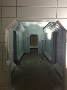 November 21, 2015: Dark Matter Season 2 – New Sets In Progress!