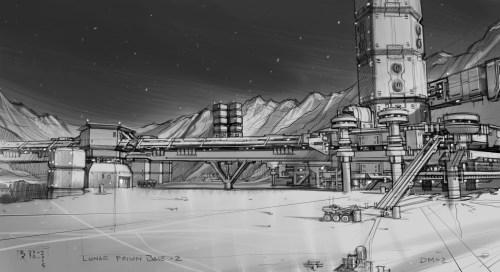 November 3, 2015: Dark Matter Season 2 Sneak Peek!  Moon Base Hyperion-8!