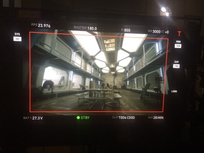 December 7, 2015: Final Days Of Prep On Dark Matter Episode 201!