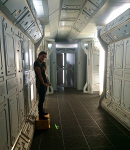 December 10, 2015: Dark Matter Episode 201 – Production Day #2!