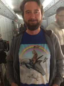 December 17, 2015: Dark Matter Production!  And The Return Of Cat T-shirt Thursday!