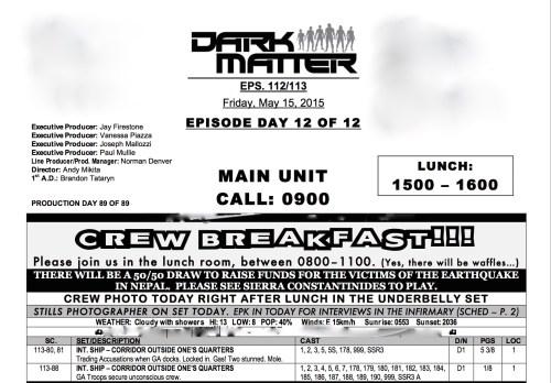 January 18, 2016: A Monday Night Meander Down Dark Matter Memory Lane!
