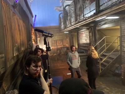 February 6, 2016: Dark Matter – Behind The Saturday Scenes!