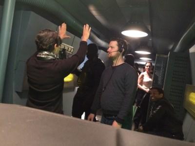 April 9, 2016: Director Mairzee Almas In Action!