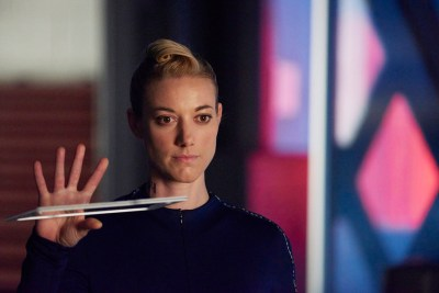 """DARK MATTER -- """"Episode Twelve"""" Episode 112 -- Pictured: Zoie Palmer as The Android -- (Photo by: Russ Martin/Prodigy Pictures/Syfy)"""