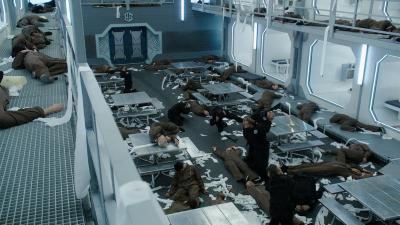 "July 11, 2016: Dark Matter ""episode 15: Kill Them All"" Behind The Scenes!"