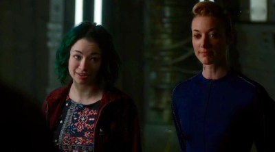 "July 25, 2016: Dark Matter ""episode 17: We Were Family"" – Deleted Scenes!"