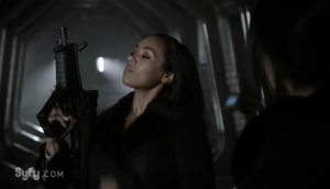 August 7, 2016: Melanie Liburd – Dark Matter's Nyx – Answers Your Questions!