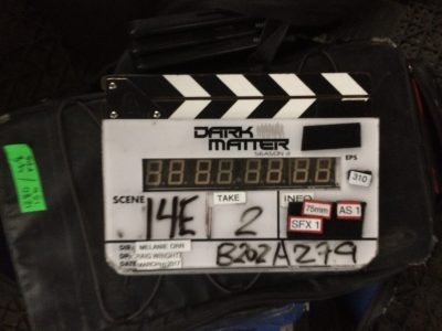 March 10, 2017: Dark Matter Season 3 – Day 66 Of 91!