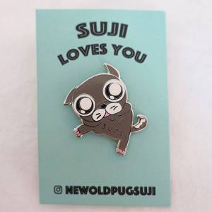 January 12, 2018: Get Your Suji Limited Edition Pin!