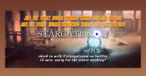 March 8, 2018: Stargate Now!
