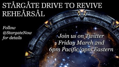 March 1, 2018: Stargate News And Revving Up For Tomorrow's Revive Rehearsal!