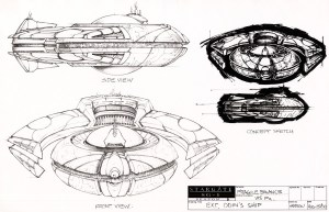 March 12, 2018: Ships Of Stargate: Sg-1!