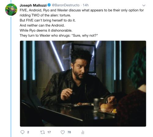 May 20, 2018: Dark Matter Virtual Season 4 – Episode 4.01, Act 4 (of 5)!