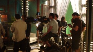 Setting up the first shot