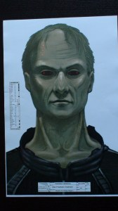 Alien prosthetic treatment - The Daedalus Variations