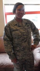 Master Sergeant Angelique