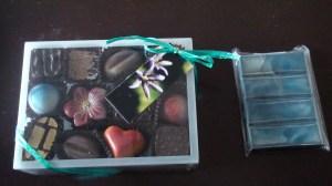 Les chocolats...