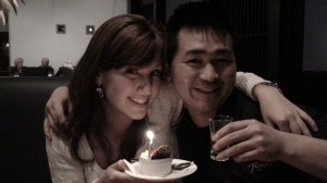 Birthday gal Kerry and Hiro