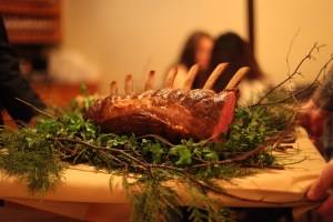 A nice piece of meat (photo compliments of Lawren Bancroft-Wilson)