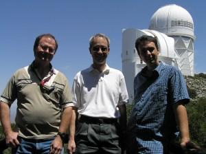 Spaceguard SG-1: Roy Tucker, Dave Tholen, and Fabrizio Bernardi