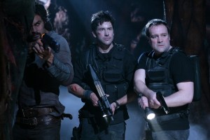 Our intrepid trio.  Search and Rescue, Stargate: Atlantis, Season 5 (photo courtesy and copyright MGM Television).