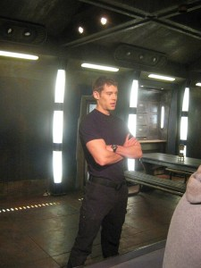 Brian J. Smith thinking about all the wonderful fans who took the time to check out his Q&A (see last issue, ed.)