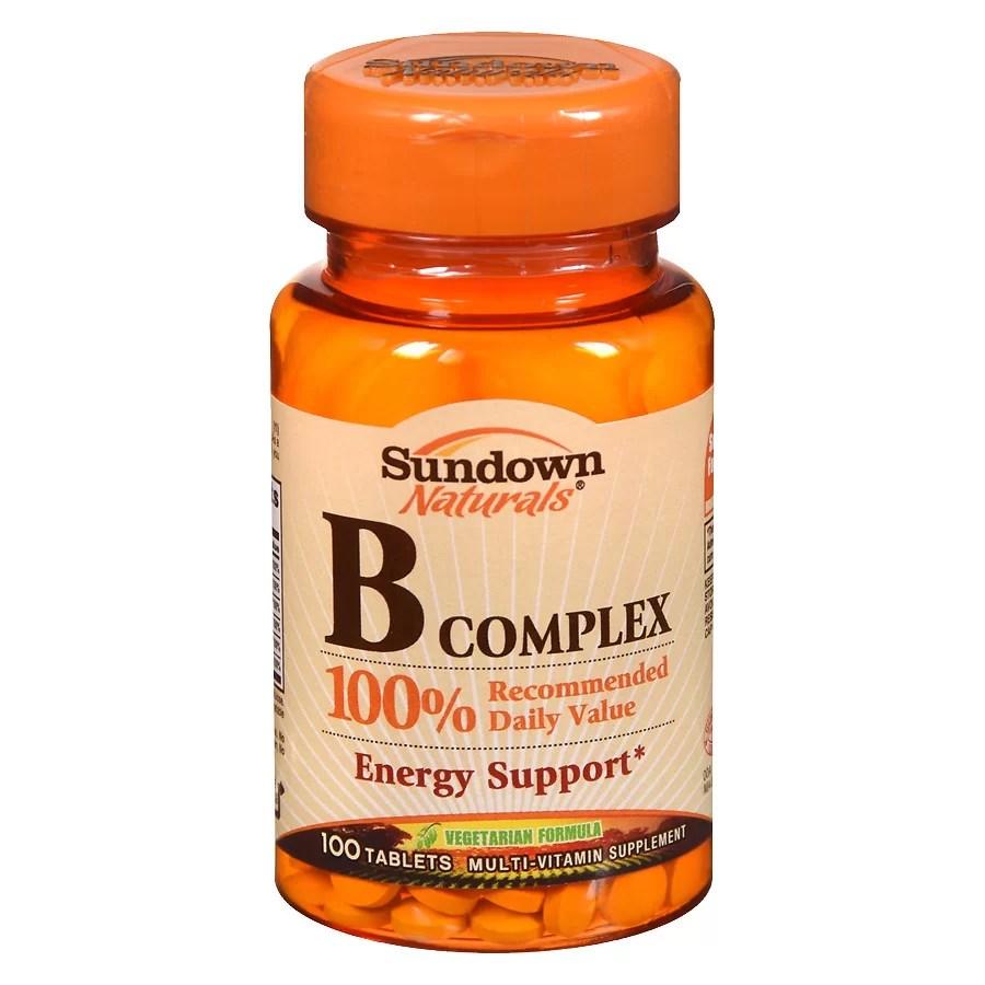 Sundown Naturals B Complex Multivitamin