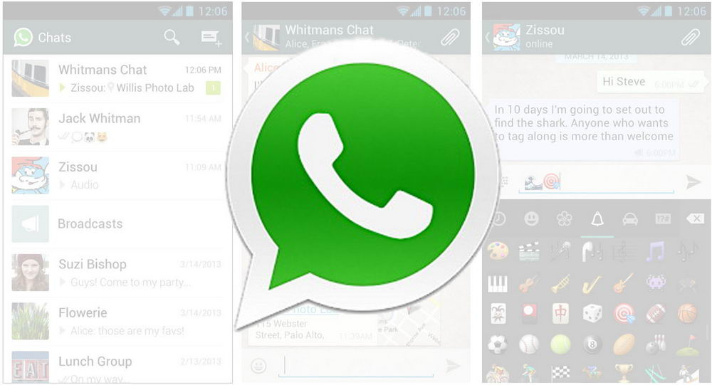 Download WhatsApp Messenger App Version 2.11.238