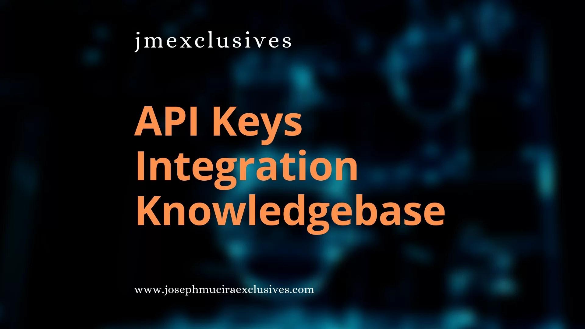 API Keys Integration