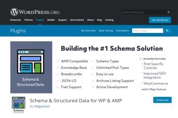 Structured Data Schema for WP & AMP