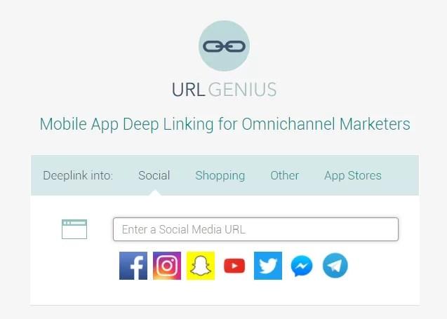 Telegram Messenger URL Genius