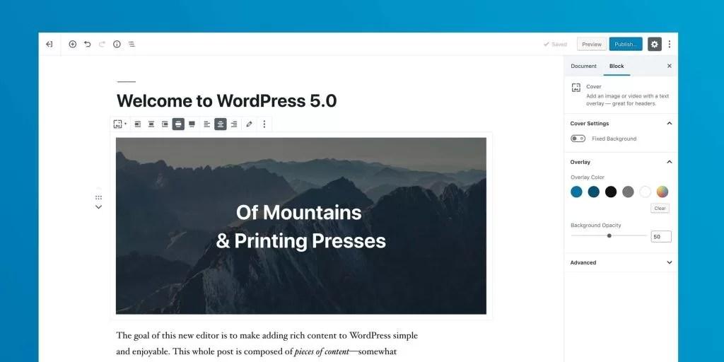 Gutenberg Block Editor for WordPress