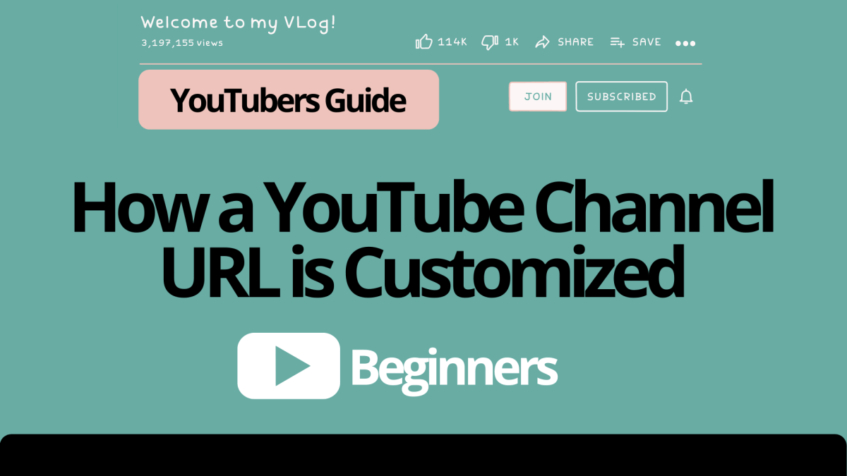 How to Get a YouTube Custom URL