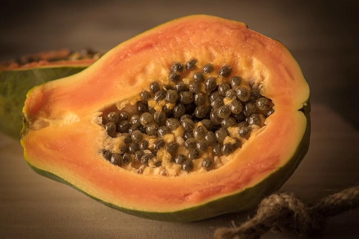 Methods of Preparing a Papaya Fruit