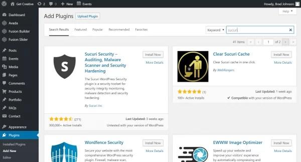 Securi Security Plugin Installation Guide